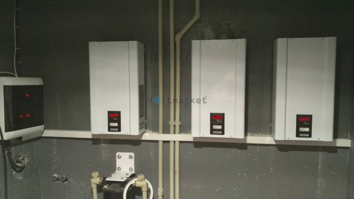Электронный стабилизатор напряжения ЭЛЕКС АМПЕР  Т У 16-1/25 v2.0