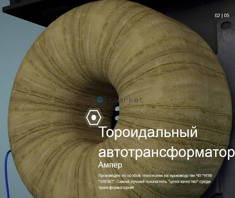 Электронный стабилизатор напряжения ЭЛЕКС АМПЕР У 12-1/80 v2.0