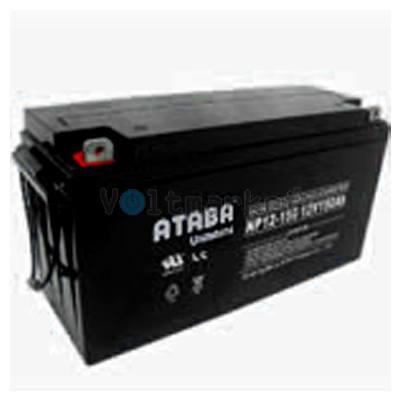 Аккумуляторные батареи ATABA NP 12-150 (12V150Ah)