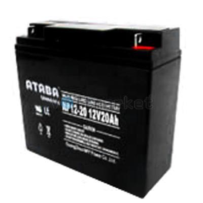 Аккумуляторные батареи ATABA NP 12-20 (12V20Ah)