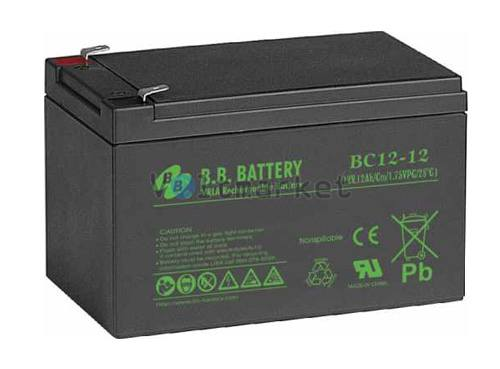 Аккумуляторная батарея B.B. Battery BС 12-12 FR