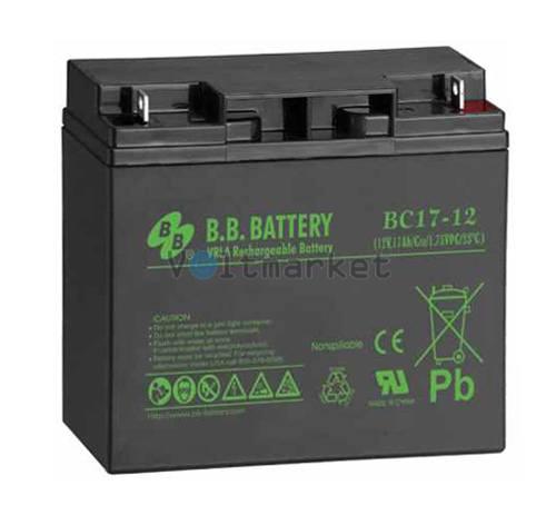 Аккумуляторная батарея B.B. Battery BС 17-12 FR