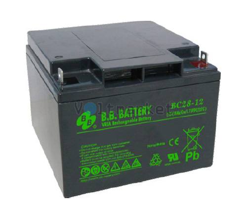 Аккумуляторная батарея B.B. Battery BС 28-12 FR