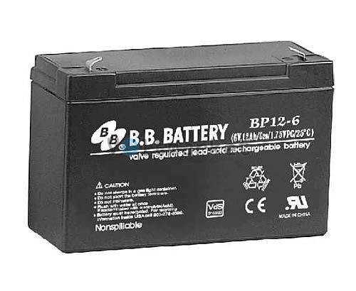 Аккумуляторная батарея B.B. Battery BP12V-6/T1