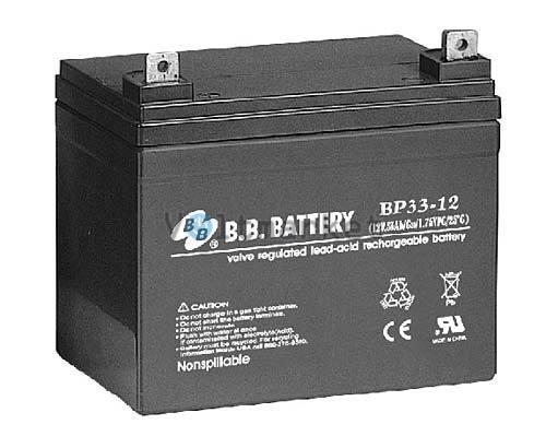 Аккумуляторная батарея B.B. Battery BP33-12S/B2