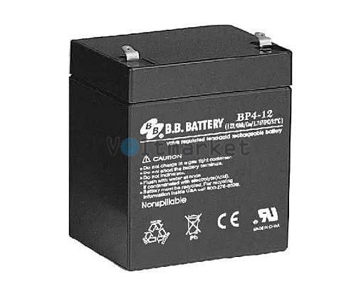Аккумуляторная батарея B.B. Battery BP4-12/T1