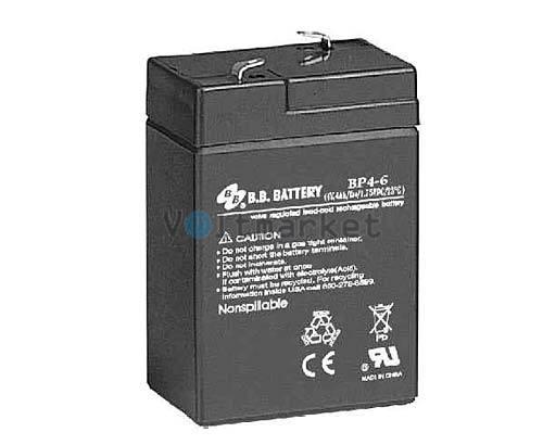 Аккумуляторная батарея B.B. Battery BP4-6/T1