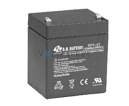 Аккумуляторная батарея B.B. Battery BP5-12/T1