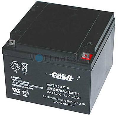 Аккумуляторная батарея CASIL CA 12260
