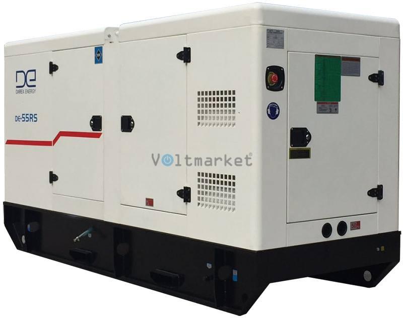 Дизель генератор Darex Energy DE-200RS