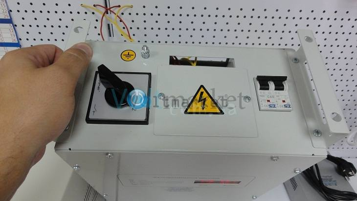 Однофазный стабилизатор напряжения BALANCE СНО-22H16