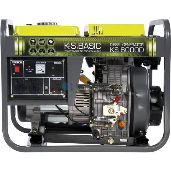 Дизельная электростанция KONNER&SOHNEN BASIC KS 6000 D Basic