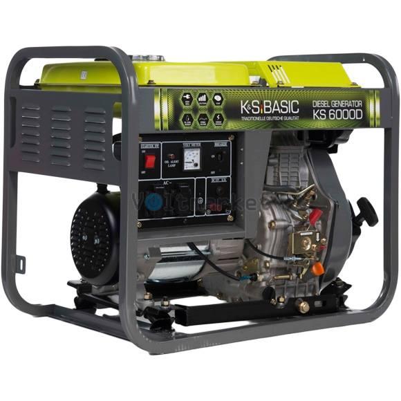 Дизельный генератор KS 6000 D Basic