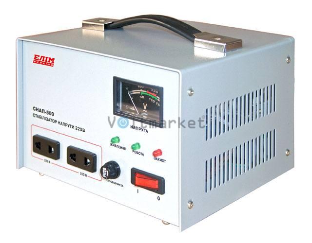 Стабилизатор напряжения однофазный ELIM СНАП-500