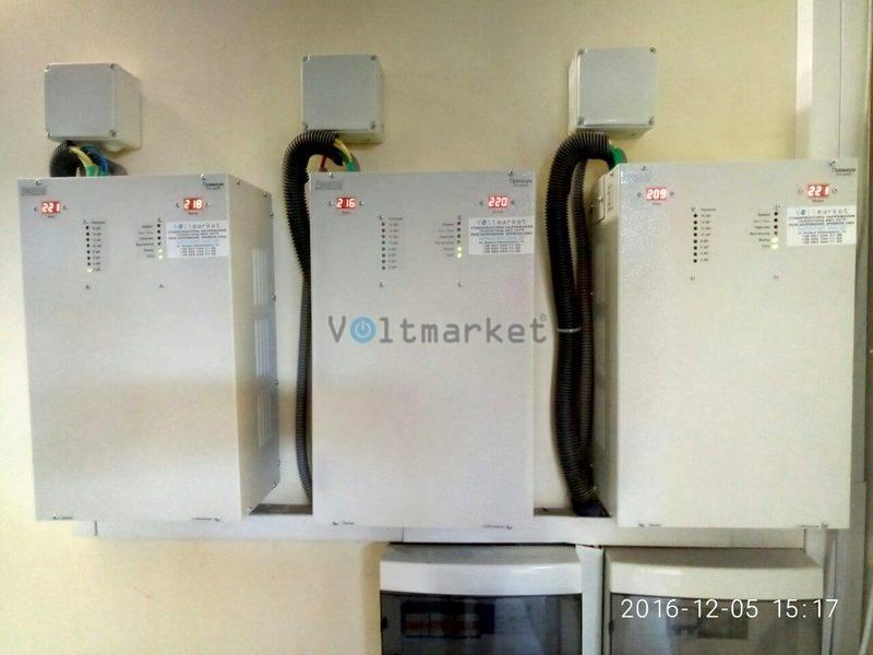 Электронный однофазный стабилизатор напряжения PHANTOM VNTP-15 (модель VNTР-844Е)