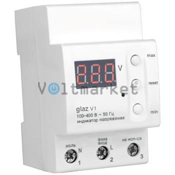 Цифровой однофазный вольтметр ZUBR glaz V1