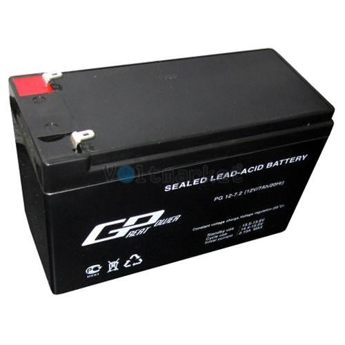 Аккумуляторная батарея необслуживаемая 12 Вольт 7 Ач