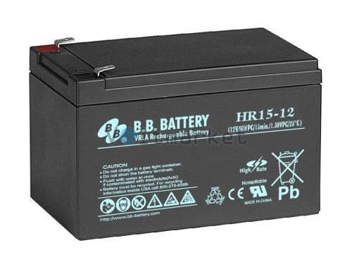 Аккумуляторная батарея B.B. Battery HR15-12/T2
