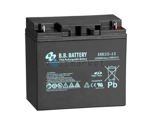 Аккумуляторная батарея B.B. Battery HR22-12/B1