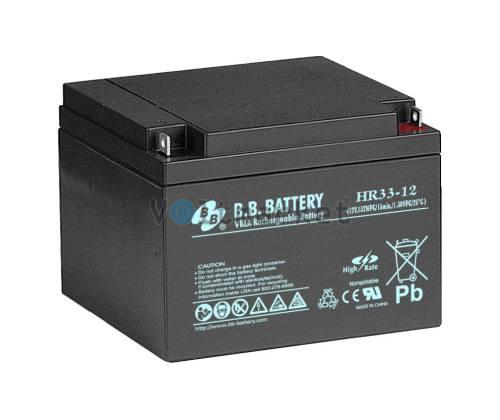 Аккумуляторная батарея B.B. Battery HR33-12/B1