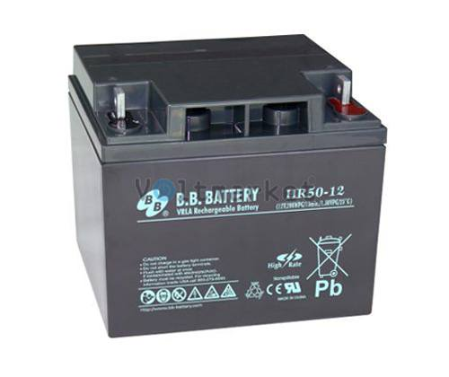 Аккумуляторная батарея B.B. Battery HR50-12/B2