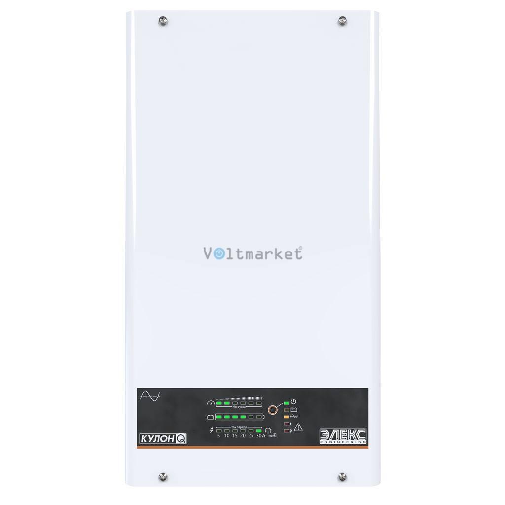 ИБП Элекс Кулон Q600 V3.0