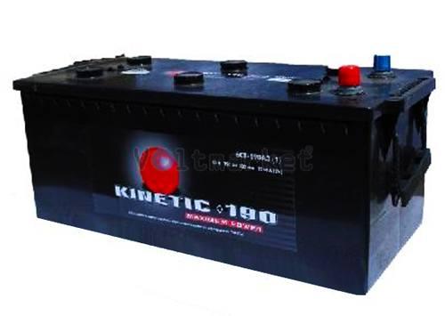 Автомобильная стартерная батарея KINETIC 6СТ-190 950А M2 L+