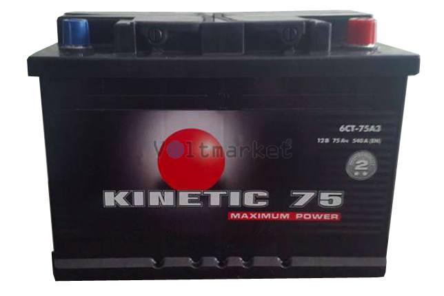 Автомобильная стартерная батарея KINETIC 6СТ-100 680А M2 R+