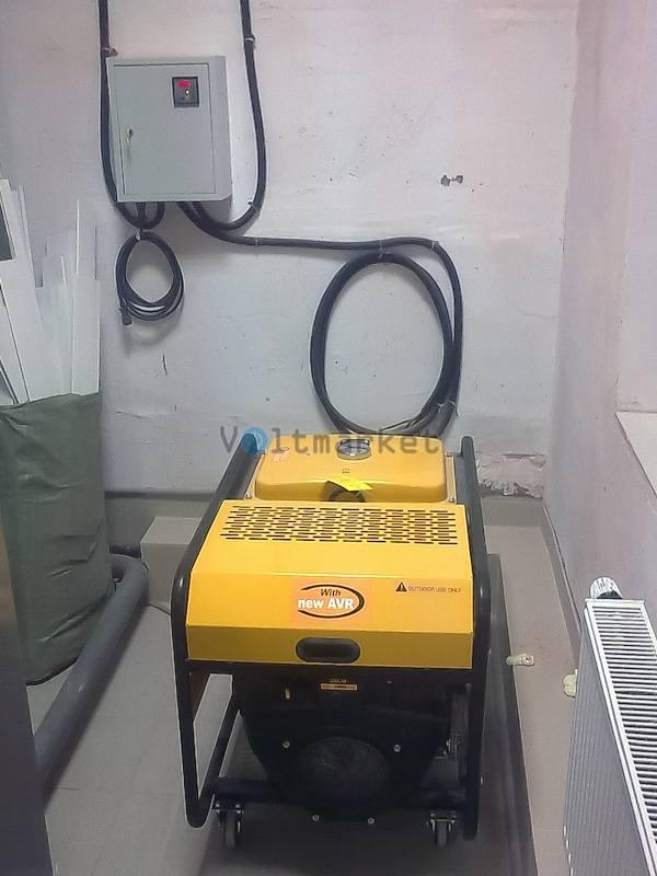 Бензиновая электростанция KIPOR KGE12E3