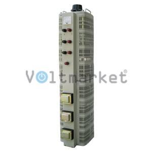 Лабораторный автотрансформатор регулируемый трехфазный RUCELF LTC-3-30000