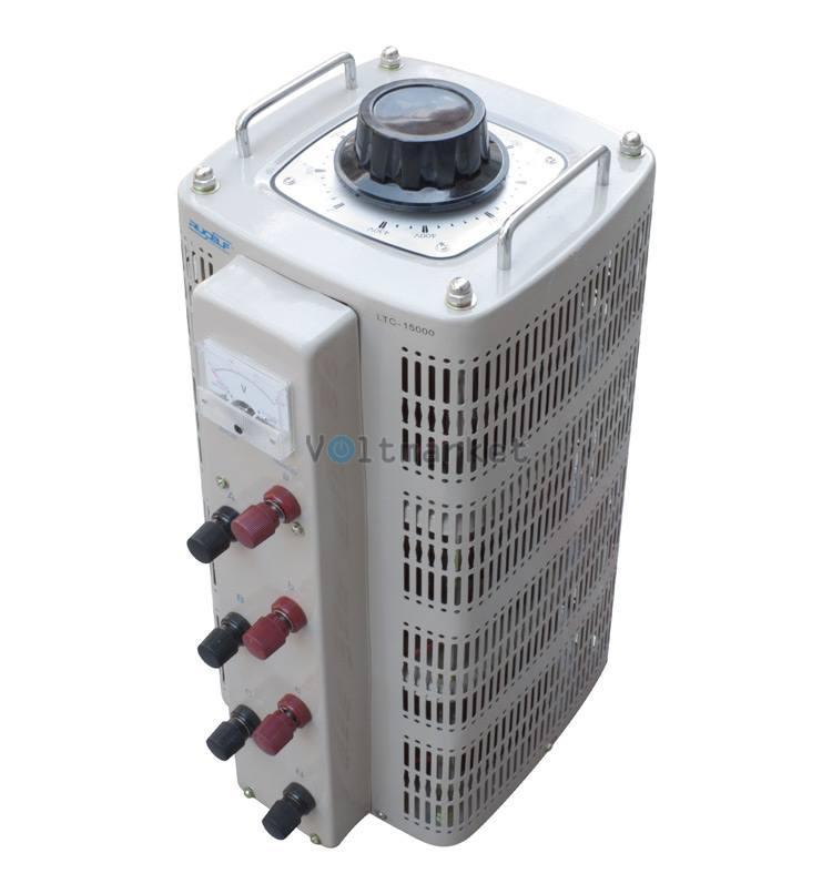 Лабораторный автотрансформатор трехфазный RUCELF LTC-3-15000