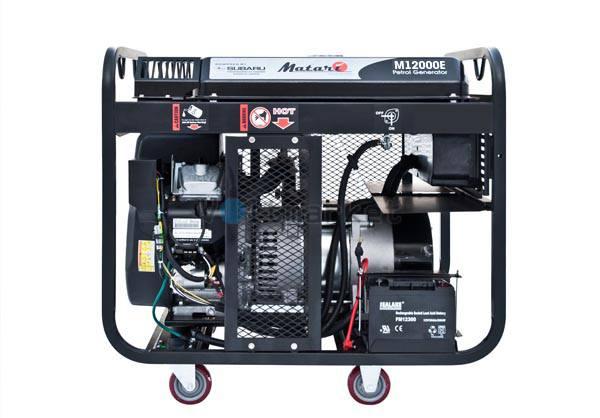 Бензиновая электростанция Matari M12000E3