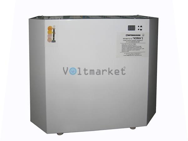 Электронный однофазный стабилизатор напряжения Укртехнология NORMA 20000 HV