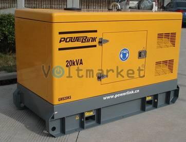 Дизельные генераторы Power Link GMP15PXS