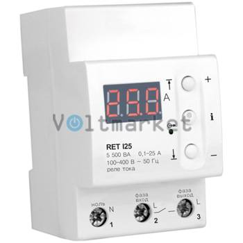Реле токовой защиты ZUBR RET I25