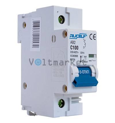 Автоматические выключатели RUCELF  AB2-1P-100A