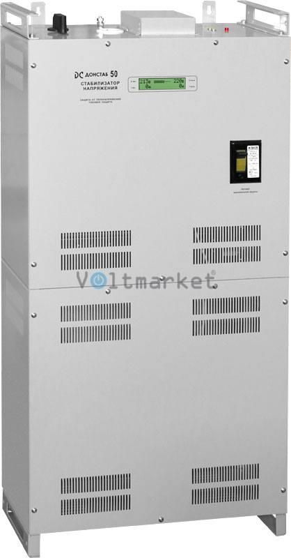 Электронный однофазный стабилизатор напряжения Донстаб СНПТО-50