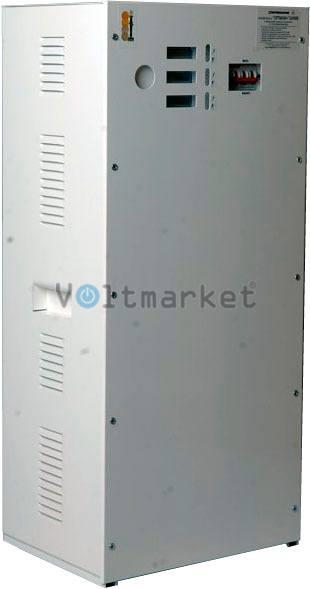 трёхфазный стабилизатор напряжения Укртехнология STANDARD 35000х3