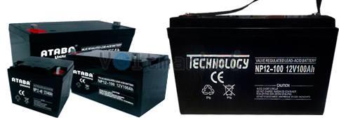 Герметичные свинцово-кислотные аккумуляторные батареи TECHNOLOGY NP12-7,2