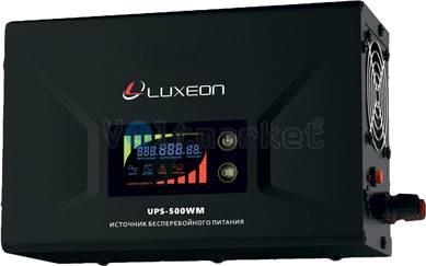Источник бесперебойного питания LUXEON UPS-500WM