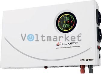Источник Бесперебойного Питания Luxeon UPS-500WS Slim
