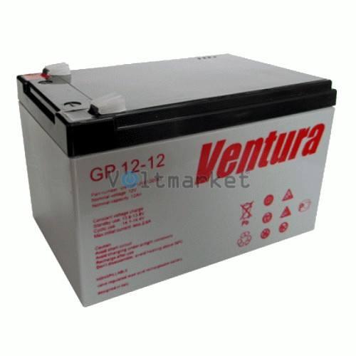 Аккумуляторные батареи Ventura GP 12-12