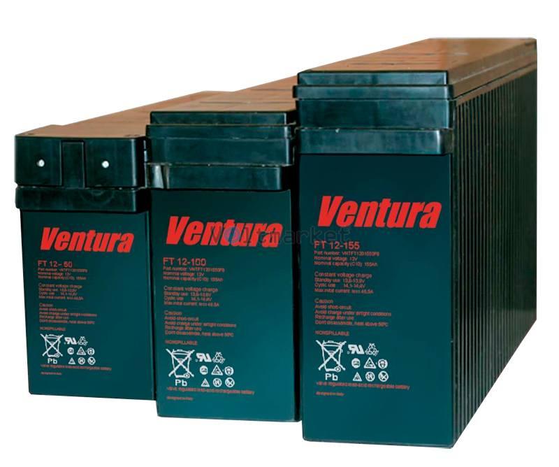 Аккумуляторные батареи Ventura FT12-50