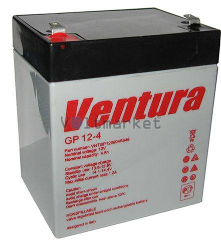 Аккумуляторные батареи Ventura GP 12-4
