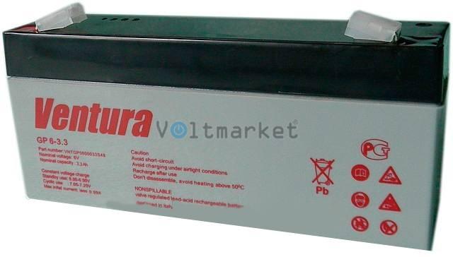 Аккумуляторные батареи Ventura GP 6-3,3