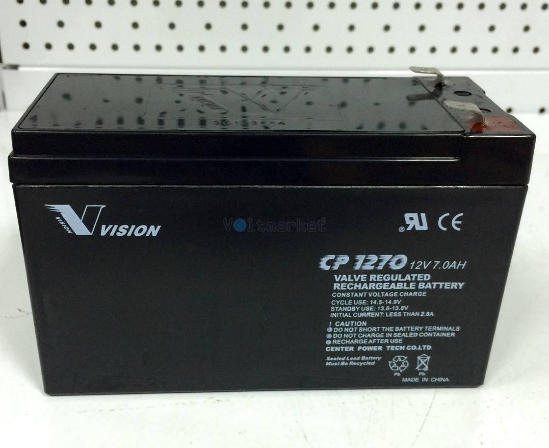 Аккумуляторная батарея Vision CP1270