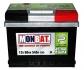 Аккумулятор стартерный MONBAT 6СТ-60 560 70 04 SMF R+