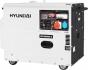 Дизельная электростанция Hyundai DHY6000SE-3