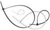 Стяжка кабельная нейлоновая Инстайл 3х100