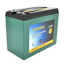 VIPOW LiFePO4 12.8V 30AH 384WH BMS 25A